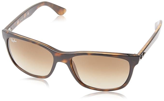 Ray Ban Unisex Sonnenbrille Wayfarer, Gr. Large (Herstellergröße  57), Braun  (Gestell  Havana, Gläser  Braun Verlauf 710 51)  Amazon.de  Bekleidung 3ffc7ebf9c5b
