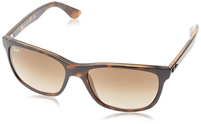 60093aac461fb Ray-Ban RB4181 - Light Havana Frame Crystal Brown Gradient Lenses 57mm  Non-Polarized