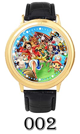 Relojes de Pulsera Anime One Piece Touch Led Impermeable ...
