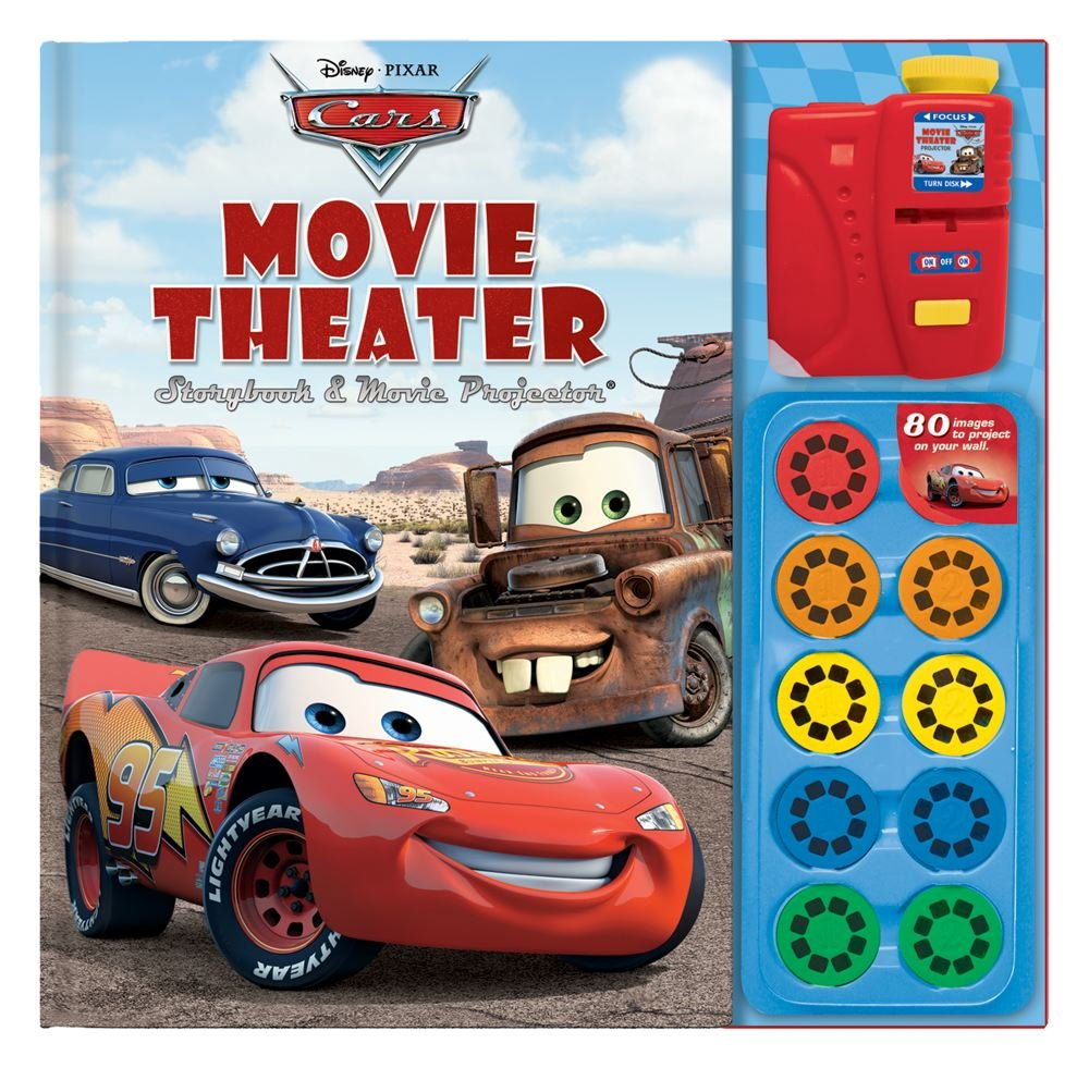 Disney Pixar Cars Movie Theater Storybook & Movie Projector pdf epub