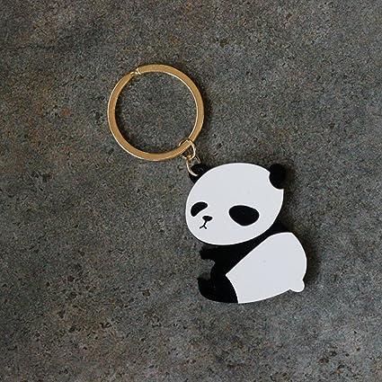 E-House Panda Supplies - Llavero con colgante de panda de ...