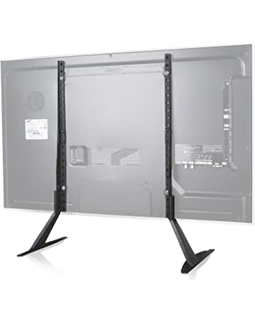 WALI Tabletop TV Stand For Flat Screen TV