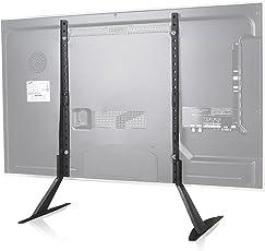WALI Universal TV Stand Table Top For Most 22u201d 65u201d LCD Flat Screen