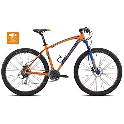 "'Torpado vélo MTB Mercury 29""Alu 3x 8V Disque taille 40Orange Bleu (VTT ammortizzate)/Bicycle VTT Mercury 29alu 3x 8S disc Size 40Orange Blue (VTT Front Suspensio"
