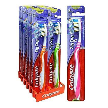 Cépillo de dientes Colgate Zig-Zag Medio - x 12