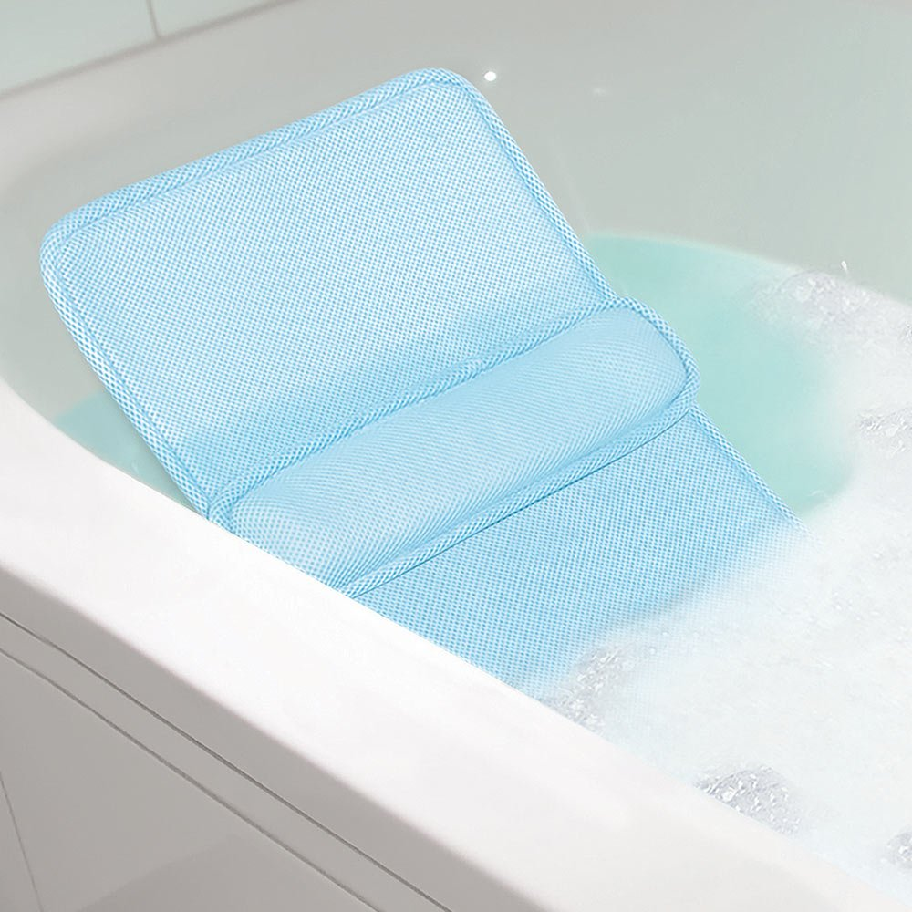 Amazon.com: Jobar International HOME SPA LUMBAR BATH CUSHION blue ...