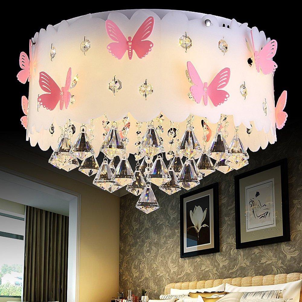 LVYI Schlafzimmerlampe Mädchen Blau Lampe Kinderlampe ...