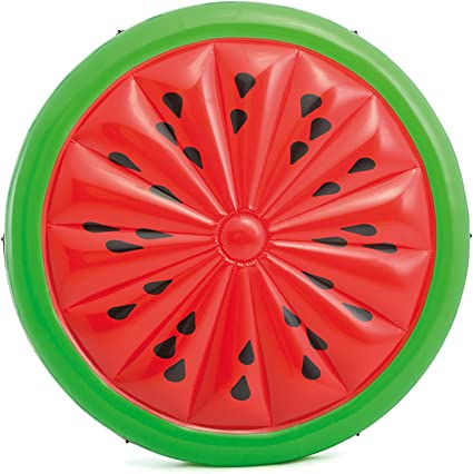 Amazon.com: Isla inflable Intex Watermelon, 72 in X 9 in ...