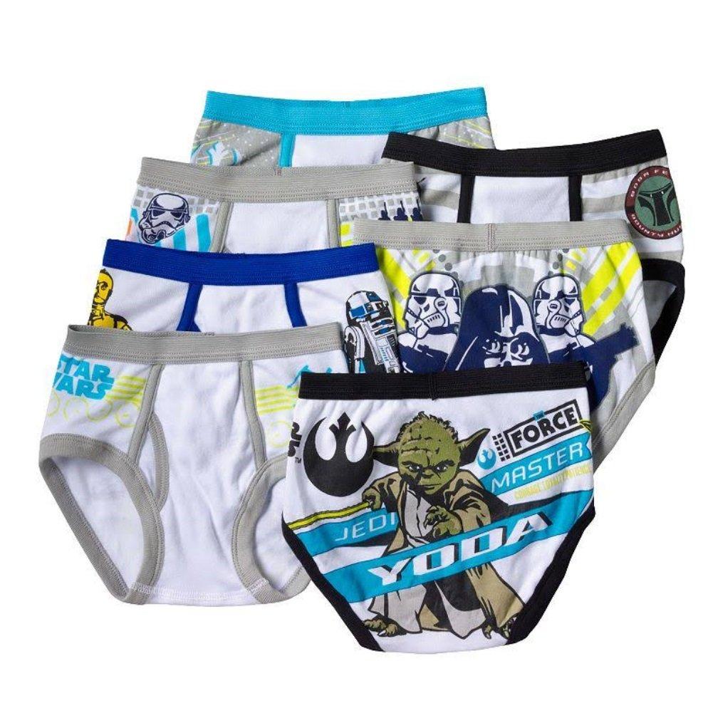 Star Wars 7-Pack Toddler Boys Underwear Briefs