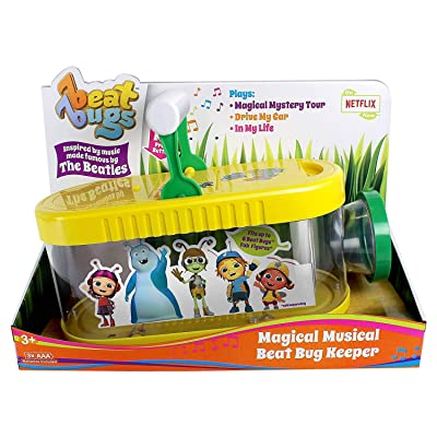 Blip Toys Beat Bugs: Magical Musical Beat Bug Keeper: Toys & Games