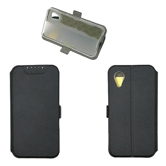 pick up c577d 9cc95 Amazon.com: Case for Asus ZenFone Live L1 ZA550KL Case Cover Black ...