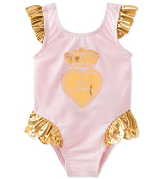 7f8eaed2fe9e5 Amazon.com: Juicy Couture Baby Girls Swimsuit: Clothing