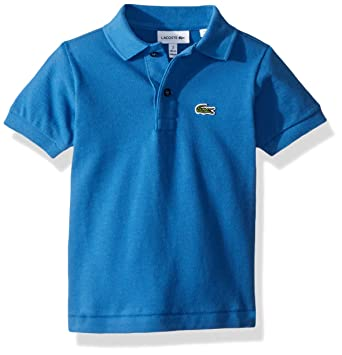 b77d6fd77 Amazon.com  Lacoste Boy Short Sleeve Classic Pique Polo  Clothing