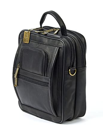 ac2b6b18f9 Amazon.com  Claire Chase Men s Ultimate Manbag Extra Large Shoulder Bag  Black One Size  Claire Chase
