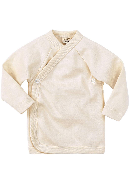 hessnatur Baby M/ädchen und Jungen Unisex Wickelhemd aus Reiner Bio-Baumwolle
