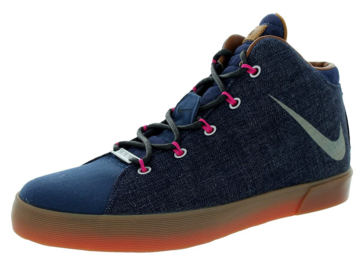 23c44877a82 Nike Lebron XII NSW DENIM Lifestyle QS Mens Basketball Shoes 716424-400  (UK11 EUR46 U12)  Amazon.co.uk  Shoes   Bags