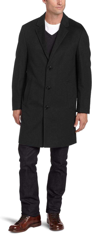 Kenneth Cole Mens Moretti Topcoat