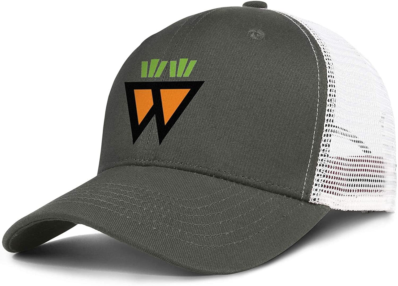 WintyHC Saladworks-Logo Cowboy Hat Trucker Hat One Size Skull Cap