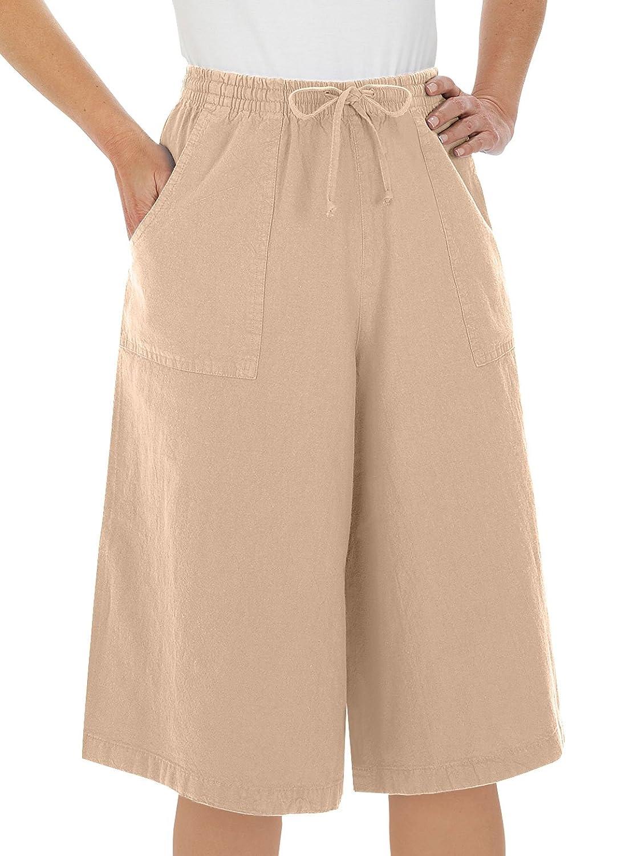 Cotton Split Skirt| - Misses' Sizes