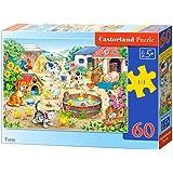 Castorland - B-06663-1 - Puzzle - La Ferme - 60 Pièces