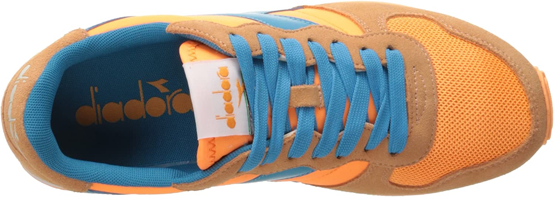 Diadora - Sport Shoes Camaro for Man and Woman Orange Fluorescent/Cyan Blue Fluorescent