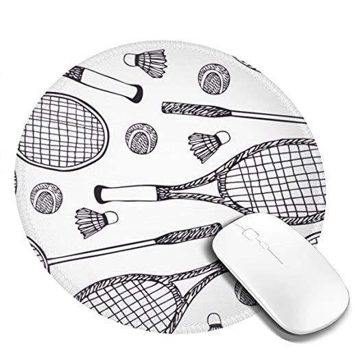 Amazon.com: Badminton and Tennis Round Gaming Rubber Base ...