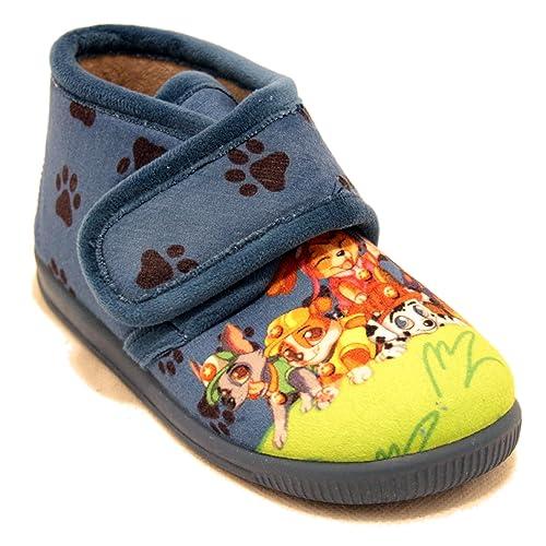 Vulcabicha 1083 - Zapatillas con Velcro de la Patrulla Canina: Amazon.es: Zapatos y complementos