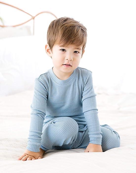 Vaenait Baby Boys Toddler Girls Pajamas 95/% Modal Fabric Shirring 12M-12 Unisex Sleepwear