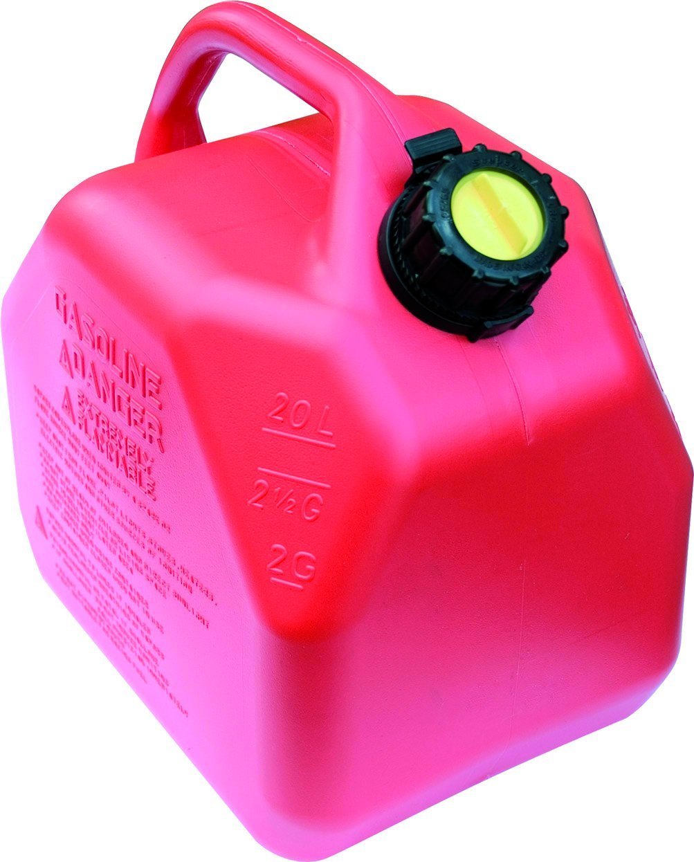 Scepter 20 Liter/5.3 Gallon Fuel Can, Red 007622