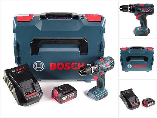 Bosch GSB 18 V DE 28 Professional 18 V Taladro en L-BOXX + 1 ...