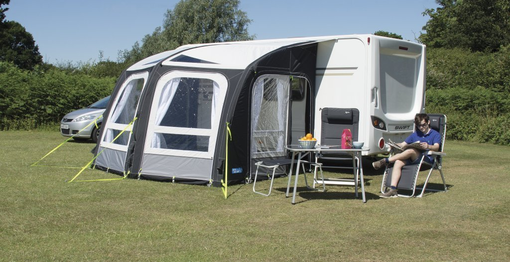 Kampa Rally Ace, 300 aufblasbare Vordach/Vorbau für Wohnwagen