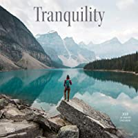 Tranquility 2018 12 x 12 Inch Monthly Square Wall Calendar, Inspiration Quotes (Multilingual Edition)