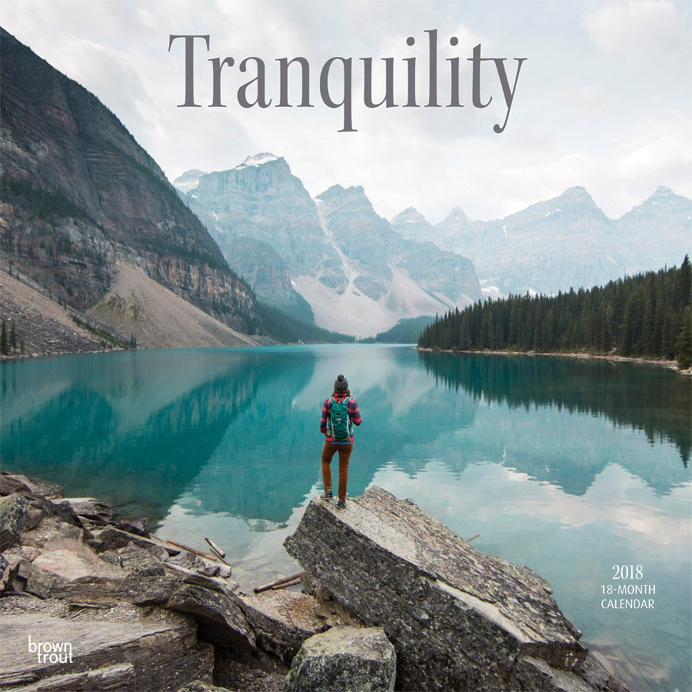 Tranquility 2018 12 x 12 Inch Monthly Square Wall Calendar, Inspiration Quotes (Multilingual Edition) pdf epub