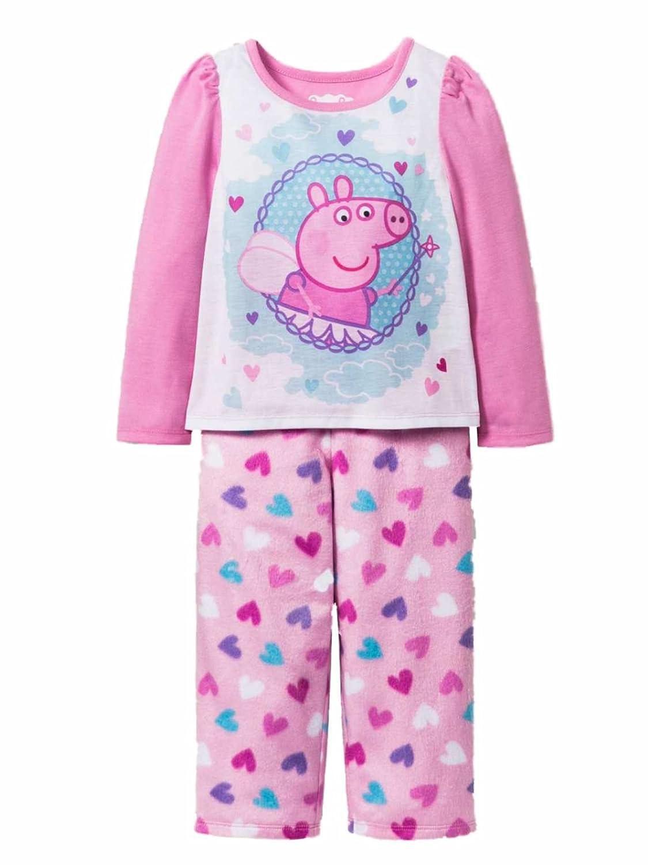 Peppa Pig Girls Boys All in One Pyjamas Fleece