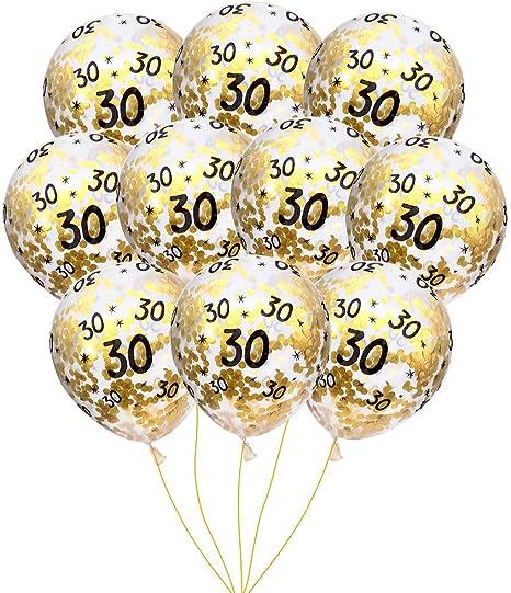 15pcs Set Latex Confetti Balloons Wedding Birthday Party Backdrop Decor 12 inch