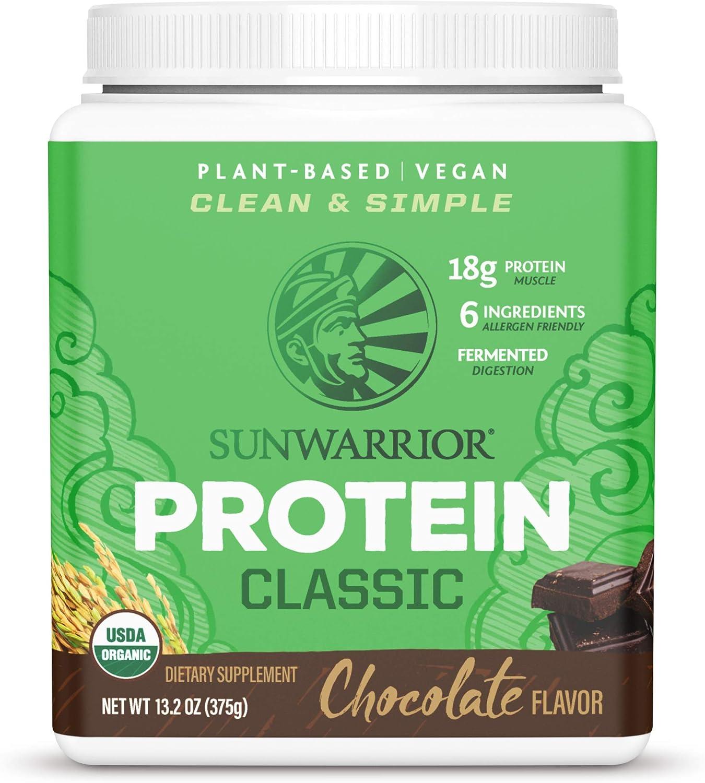 Sunwarrior Protein Classic (375g) 1 Unidad 380 g: Amazon.es ...