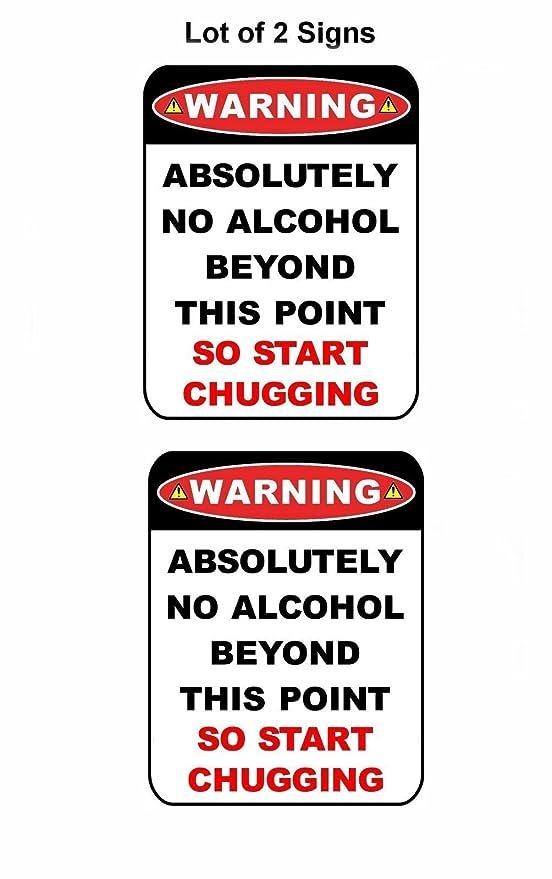 PCSCP 2 Count Aviso ningún Alcohol más allá de Este Punto ...