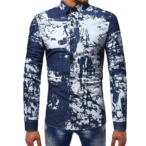 Naturazy Sweater SuéTer Hombre Fiesta Sexy, Blusa Impresa para Hombre De La Moda Camisas Ocasionales