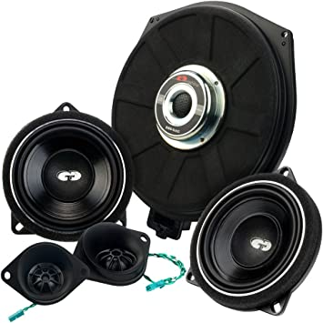 CDT Audio Altavoz SET32 de compostador + Subwoofer para BMW & Mini ...
