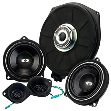 CDT Audio Altavoz SET32 de compostador + Subwoofer para BMW ...