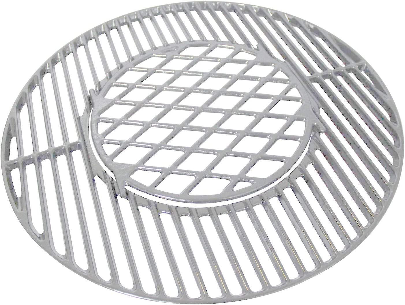 Votenli S883E (1-Pack) Stainless Steel Cooking Grid Grates Replacement for Weber 22.5