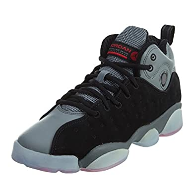 39cbd2762bf Amazon.com | Jordan JORDAN JUMPMAN TEAM II PREM BG girls fashion-sneakers  861435-014_4.5Y - Black/Infrared 23-Cool Grey-Infrared 23 | Sneakers