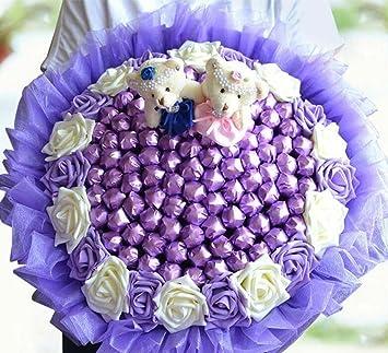 99 Stick Candy Bouquets novia dama de honor sosteniendo las ...