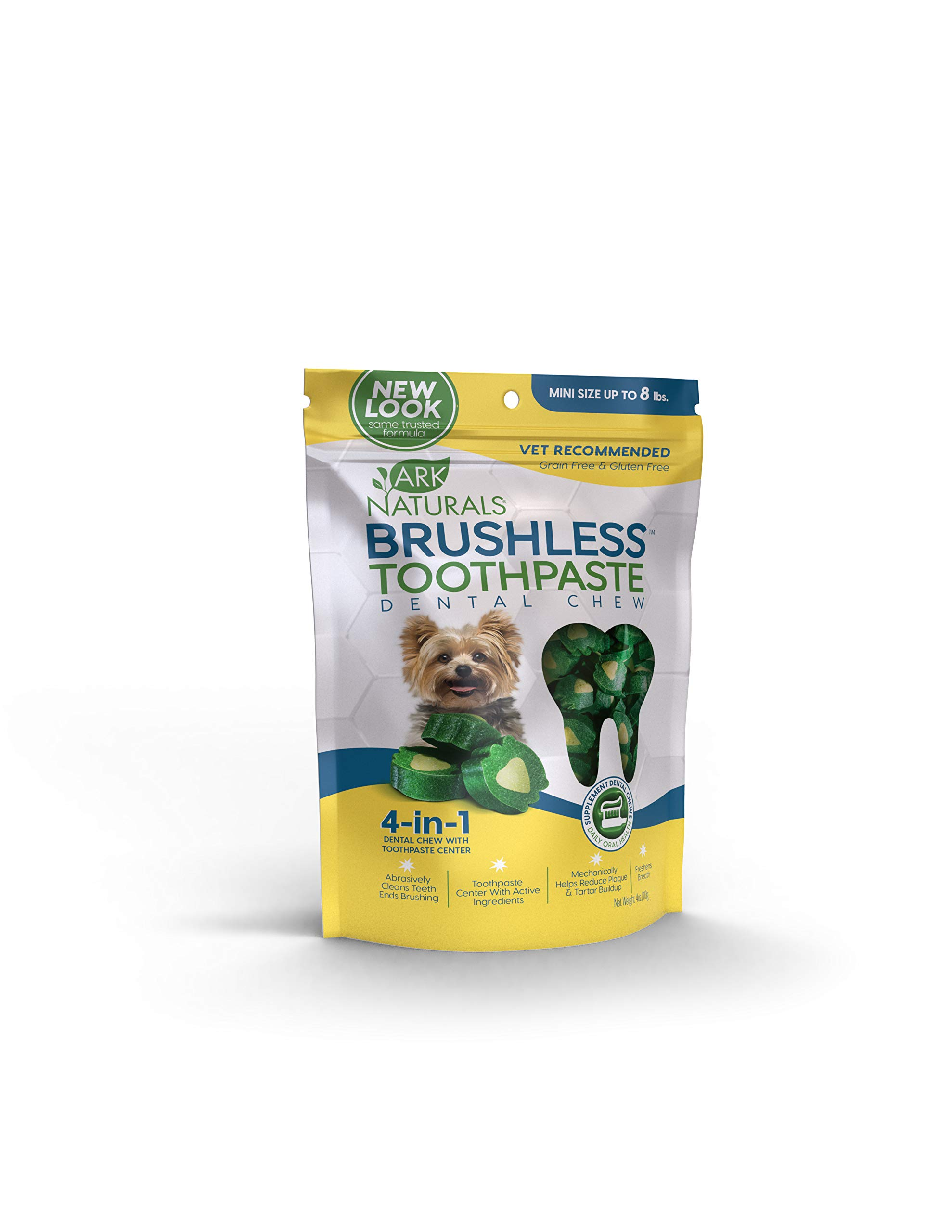Ark-Naturals-Brushless-Toothpaste-Vet-Recommended-Natural-Dental-Chews-for-Dogs-Plaque-Tartar-and-Bacteria-Control