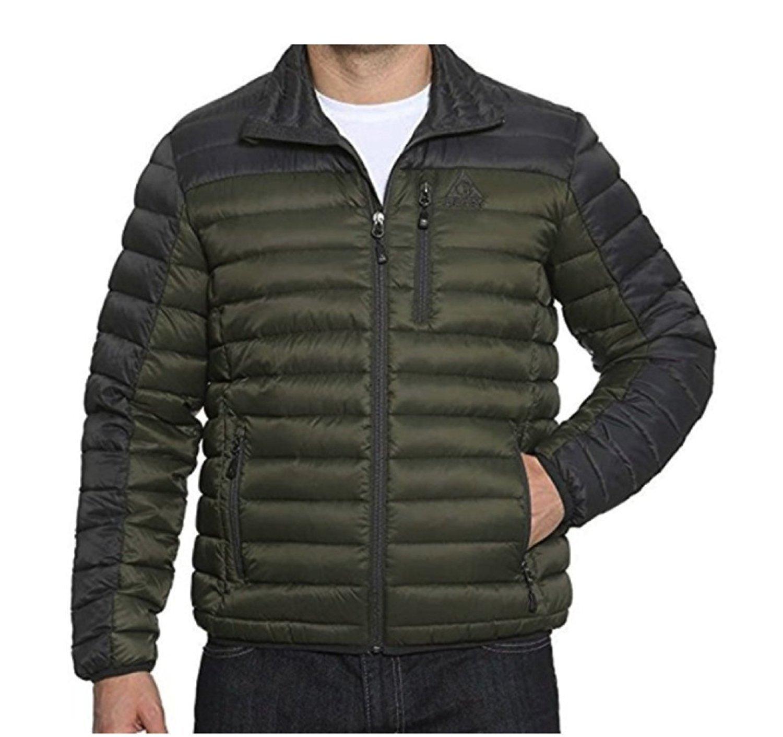 669645eefe5c Gerry Men s Replay Packable Down Jacket (Green