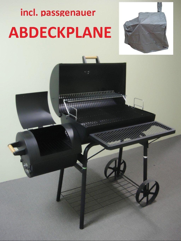 XXL 32 kg - kiug® Ahumador + meteorológica lona Barbacoa de ...