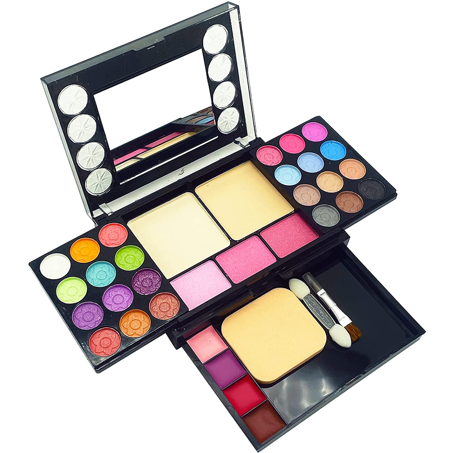 33 Colors Eye Makeup Palette Set, Matte and Shimmer Highly Pigmented Eye Makeup Palette, Long Lasting Blendable Professional Waterproof Eye Shadow Palette