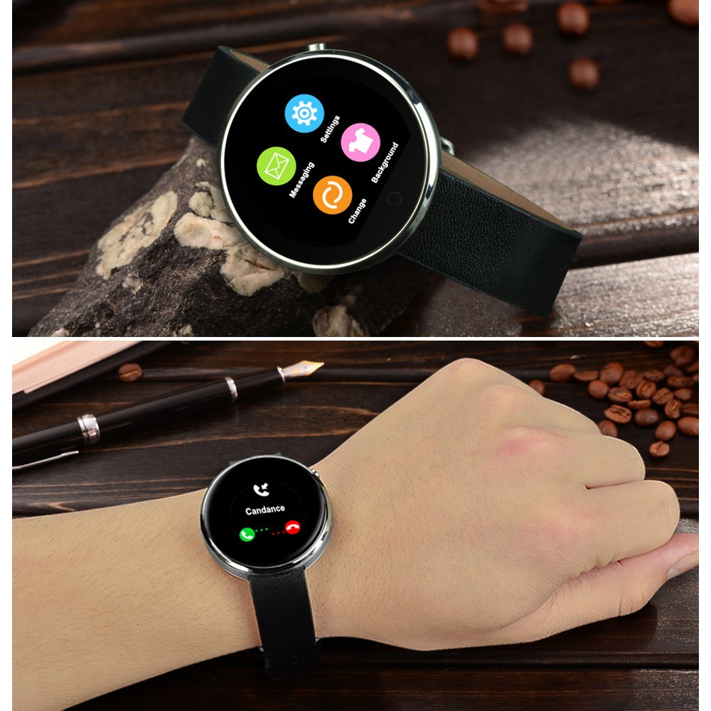 Yarrashop Waterproof Bluetooth Smart Watch Heart Rate ...