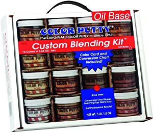 Color Putty Company 09716 Color Putty Blend Kit 16 Colors 3.68 Ounce Jars