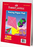 """Faber-Castell Tracing Paper Pad 9"""" x 12"""""""